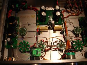 Current wiring of WA2 headamps with all currently available modifications: Black Gates; Teflon...