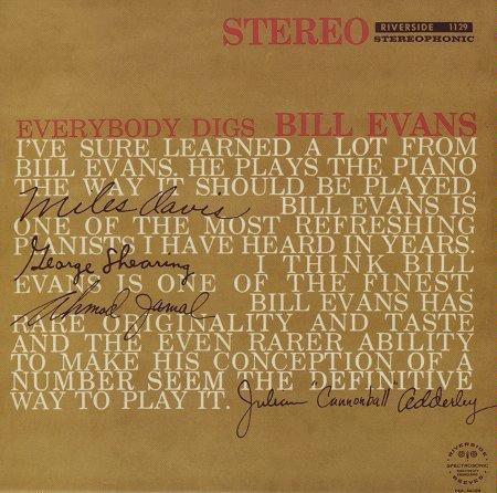 Everybody Digs Bill Evans (1959)