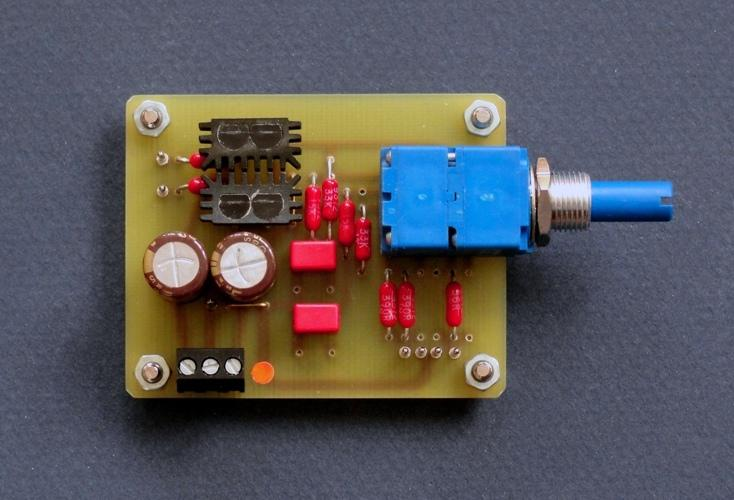 EUVL buffer with his TO92 jfet dual heatsinks