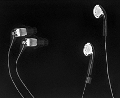 Etymotic MC5 vs ibuds! The balanced armature in the MC5 seems to take up a lot of space, but the ibuds have more steel in their dynamic drivers. Thus, they are a brighter white. This image is...