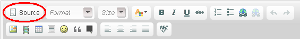 HTML source button