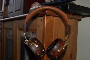 LFF's Custom Orthodynamic Headphones: The Steampunkx