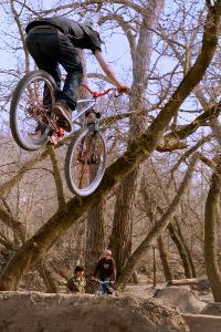 Dirt Jumping in Toronto in 2009. A little-known DIY site tended by little-known 14-year olds...