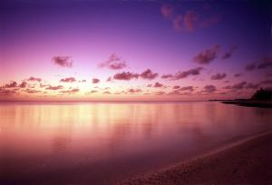 Wake Island sunset