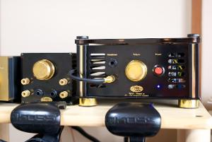 The Audiovalve RKV MKII. One of the most beautiful and awesome sounding amps I've owned.