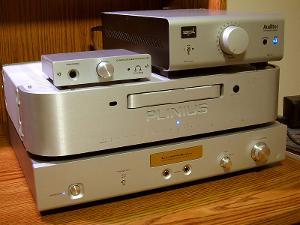 Luxman P-1u, SPL Auditor, & Plinius CD-101