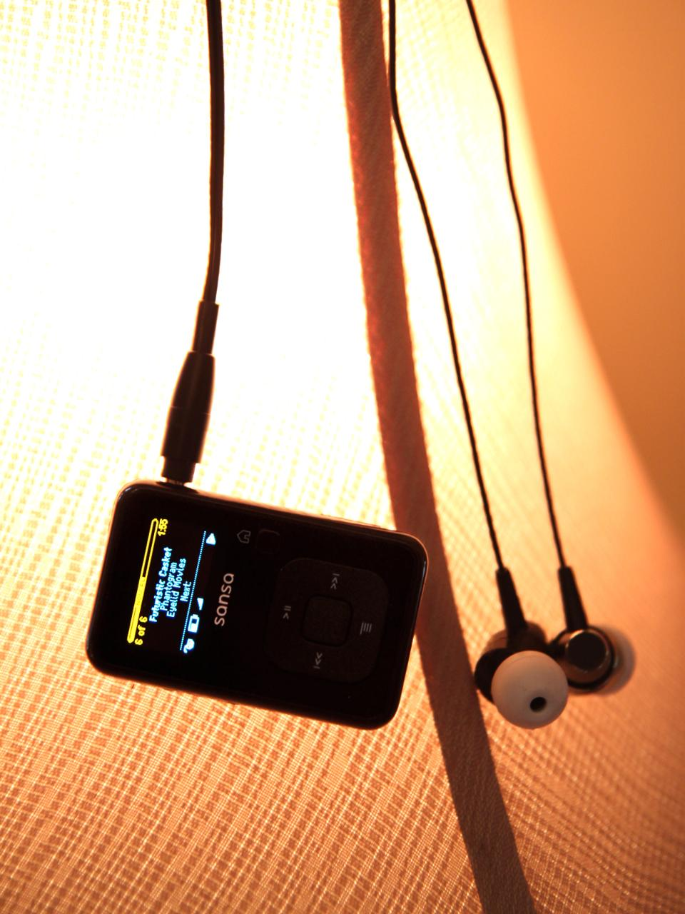 Sansa Clip+ with Denon AH-C710