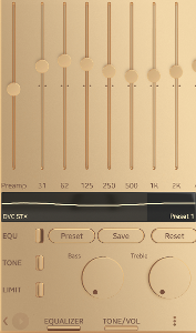 General listening, SonyEX1000
