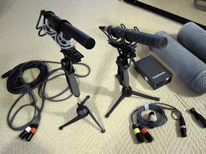 My Audio capturing microphones.