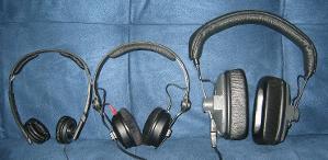 Size comparison: DT150, HD25-1 II, PX200-II
