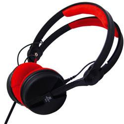 Sennheiser HD25-1-2 with red pads