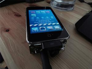 with lod ipod touch, d10