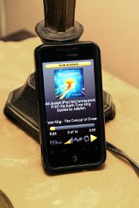 HTC Incredible running Rockbox for Android