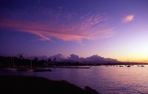 Hickam Harbor sunrise