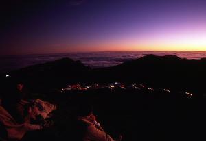 Haleakala sunrise, X-Mas morning 2001