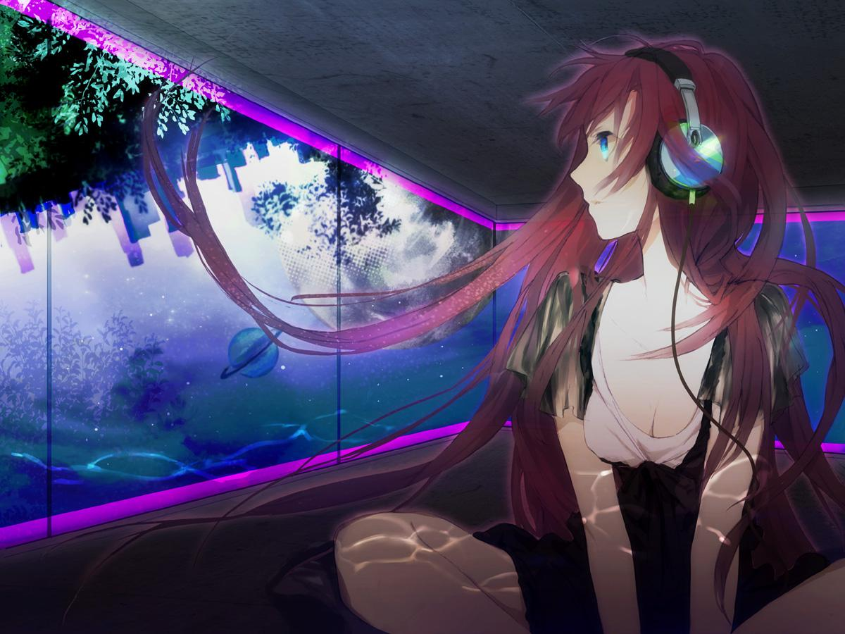Konachan.com - 70354 cleavage headphones megurine_luka tagme vocaloid.jpg
