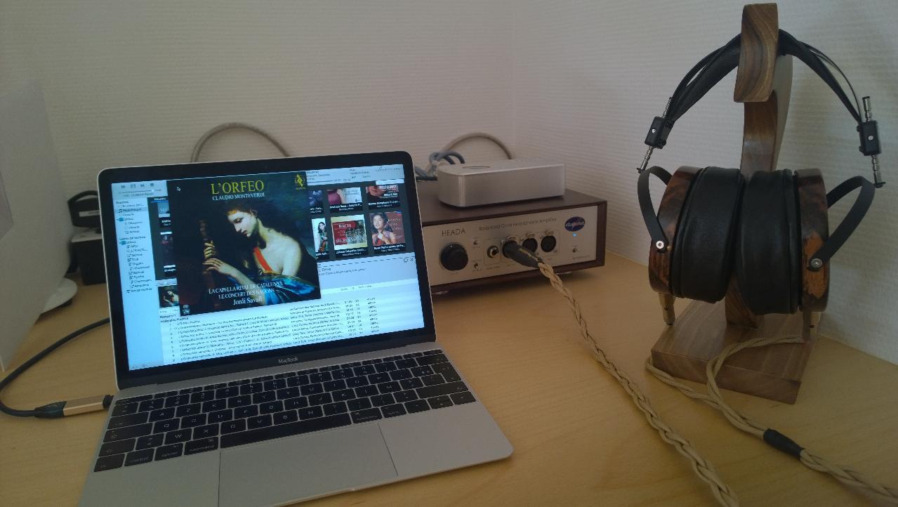 LCD4 litz cabled driven by HEADA Aurorasound