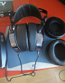 HiFiMAN HE-400i × Brainwavz Angled HM5 Pads - Suitable for Many Over-Ear Style Headphones × HIFIMAN FocusPad Leather Headphone Ear Pads for HE Series