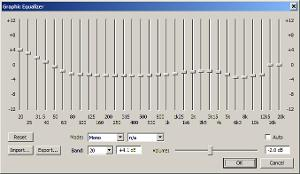 foobar2000 EQ curve for HD 800