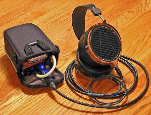 Sony PCM-M10 > Milian Acoustics SPOFC interconnect cable > Meier Audio Corda Stepdance > Audez'e...