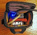 Meier Stepdance and Sony PCM-M10 inside the case