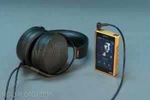 Sony MDR-Z1R with Sony Walkman NW-WM1Z.
