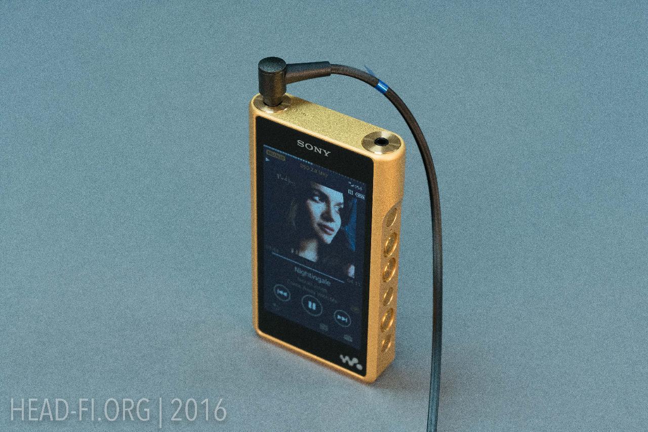 Sony Walkman NW-WM1Z.