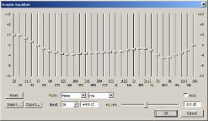 foobar2000 EQ curve for unmodded HD 800