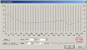 Foobar/xnor curve for unmoded HD 800 (auto)