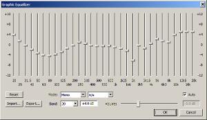 Foobar/xnor EQ curve for Grado PS1