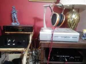 Primary headphone system :   1) Onkyo CD player, 2) Schiit Audio Yggdrasil, 3) Cavalli Audio...