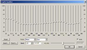 extrapolated foobar 2000 / xnor EQ curve vor HD 800 S