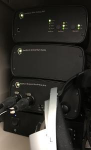 HeadRoom Triple Stack, Audio GD DI-U8 (upgraded), and Sennheiser HD 800