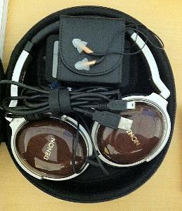 My portable headphones
