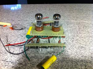 Picture of drive breadboard