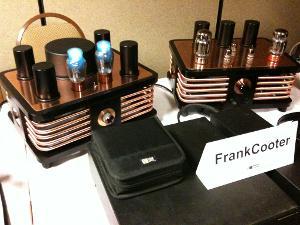 Frank Cooter's DIY electrostatic amp, Feb 2011