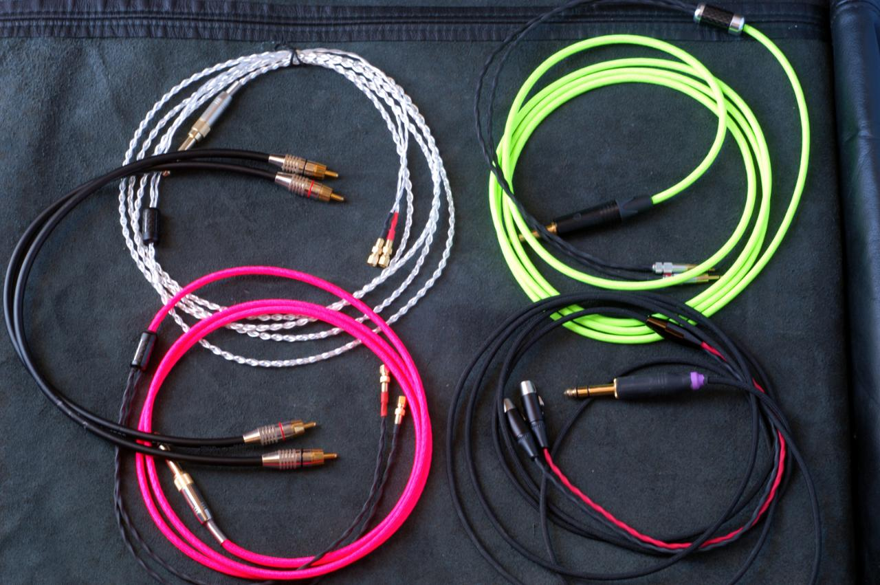 Various cables