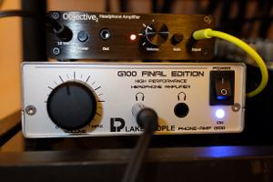 Lake People G100 FE headphone amplifier