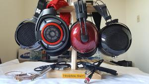 Personal Collection:  He400i,  HD800 Modded,  Alpha Primes,  Ether C Flow, Wooden Headphone...