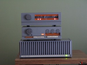 Quad 405 Amp with  Quad 33 Preamp