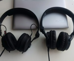 Just did side by side comparison and Denon HP600 wins over Sennheiser HD25. They sound better,...