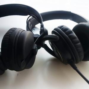 For the sound Denon HP600 has better bass, much deeper and softer. They are very detailed too...