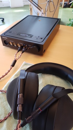 Sony MDR-Z1R and TA-ZH1ES