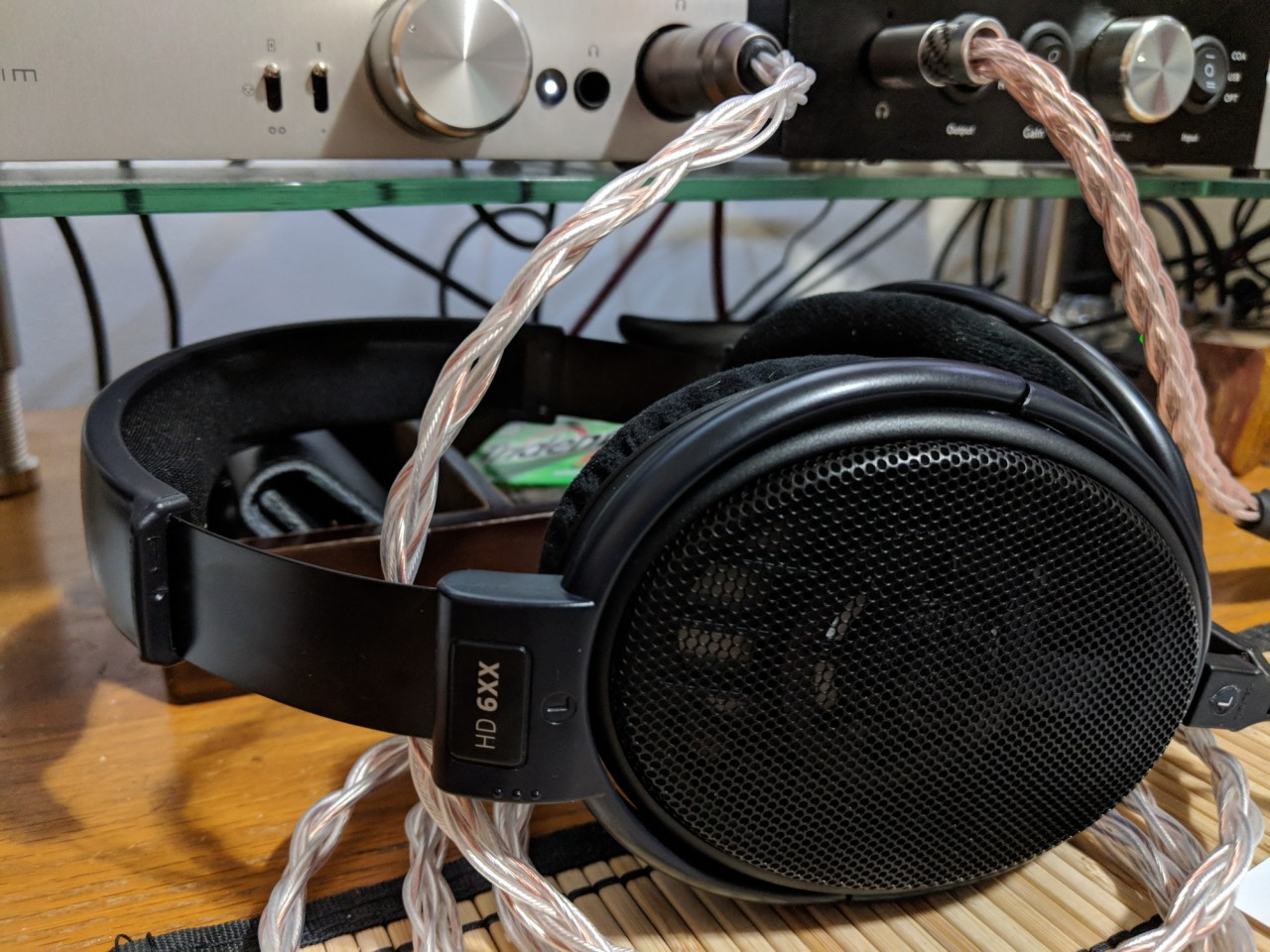 HD6xx, Venus Audio cable, Norne Audio Solvine adapter