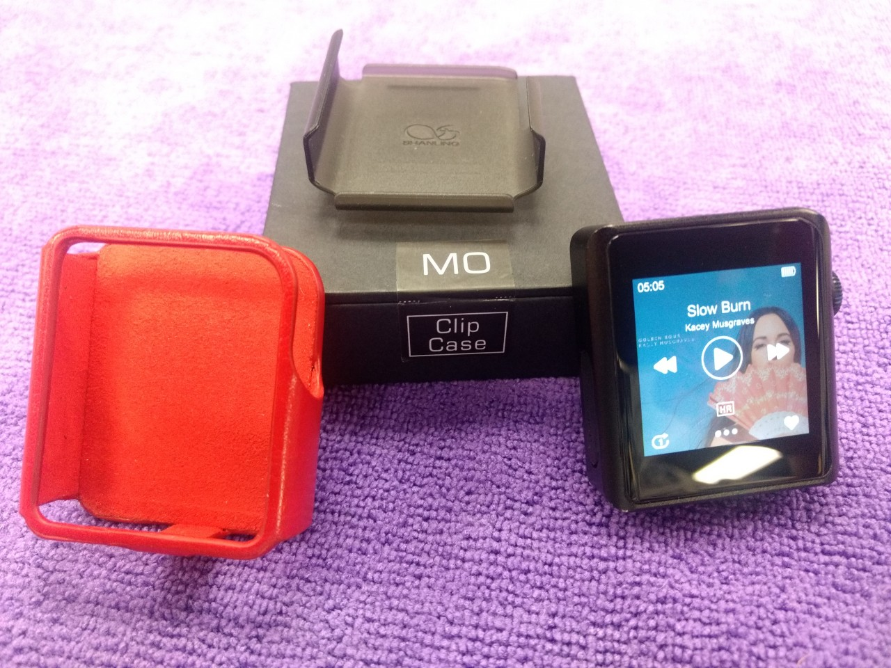 Shanling M0 - Nano size, touch screen, LDAC & aptX BT, USB