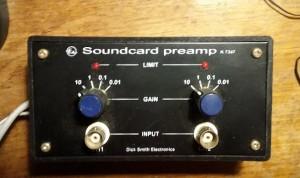 EA Soundcard preamp kit