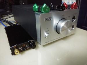 iFi Micro iDSD Black Label, KZ ZS6, STAX SRM-353X