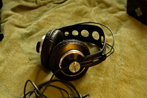 My vintage headphones