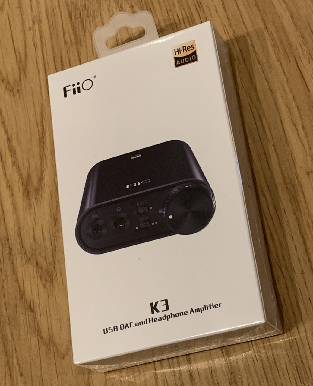 New desktop USB DAC& - FiiO K3 (E30),384K/32b,DSD DOP,typeC