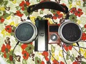 HiFiMAN HE-400s, iFi Micro iDSD Black Label, FiiO X5 2nd Gen